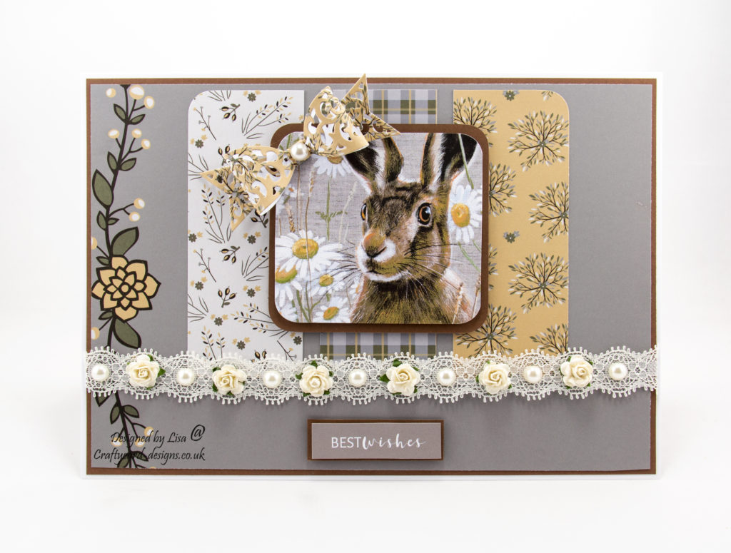 Today's handmade card has been created using the new dvd-rom from Creative Crafting World called British Wildlife Volume III.  With images from Pollyanna Pickering.