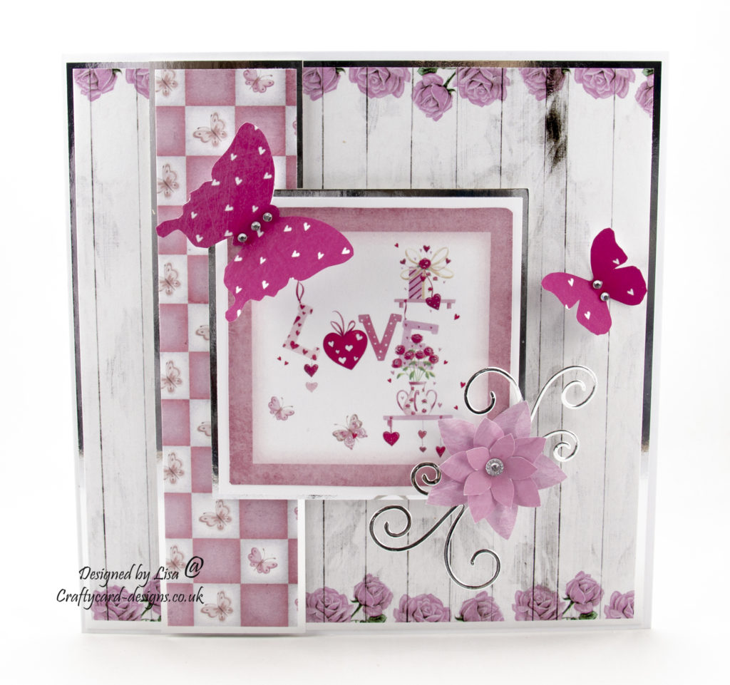 Today's handmade card has been created using the cd-rom from Bringing Inspiration To You Paper crafting magazine issue 46 by Debbi Moore Designs.