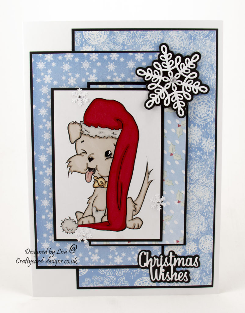 Today's handmade card has been created for the new challenge at I Love Promarkers Blog Challenge