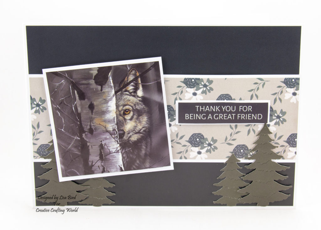 Handmade Card Tutorial - Image by Pollyanna Pickering - Creative Crafting World