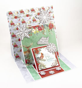 Once Upon A Christmas paper and die collection