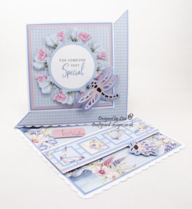 A Summer Garden paper collection with dragonfly and ladybird