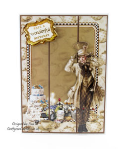 Journey To Wonderland match it cd-rom and Journey To Wonderland Mad Hatter match it pad from Debbi Moore Designs