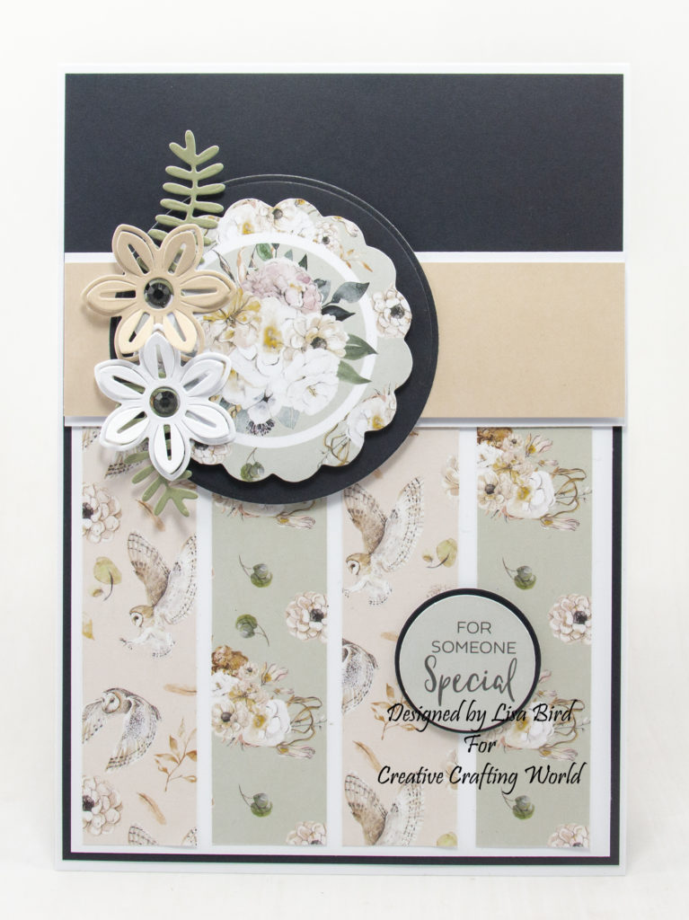 This paper collection is from The Paper Tree brand called Secrets Of The Forest from Creative Crafting World
