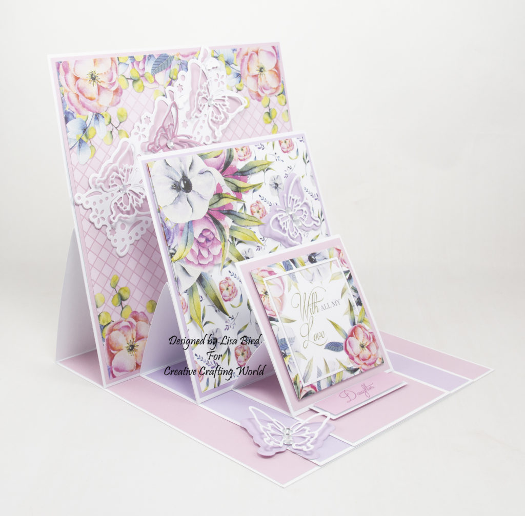 This paper collection is from The Paper Boutique brand called Floral Daze.