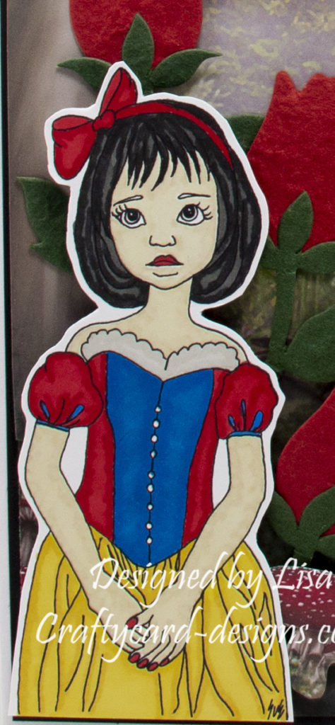 digi image from Ike's Art called Snow White