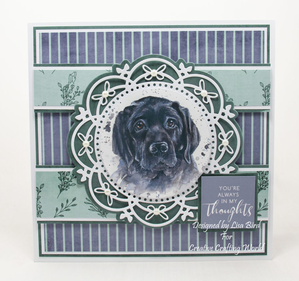 handmade cards have been created using Faithful Friends cd-rom