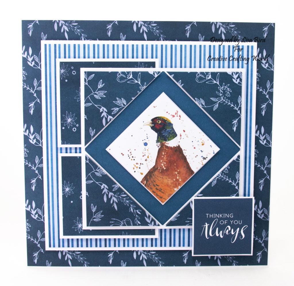 Handmade card using Bree Merryn Countryside Friends cd