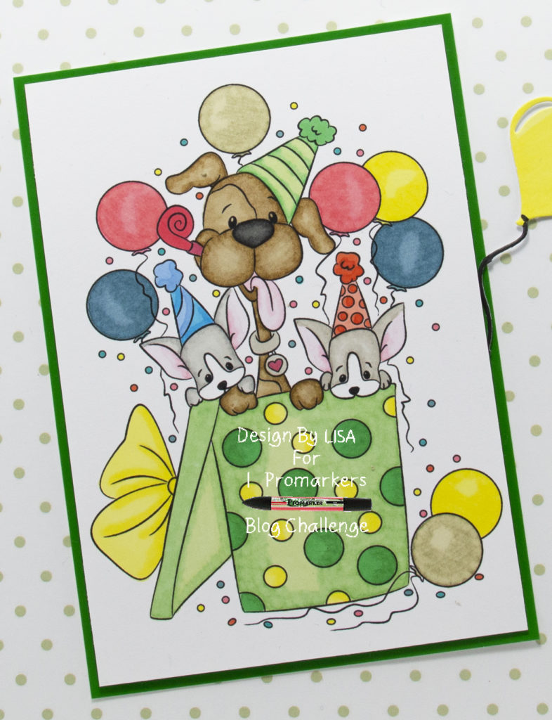 digi image from Digi Doodles Studios called Party Pups