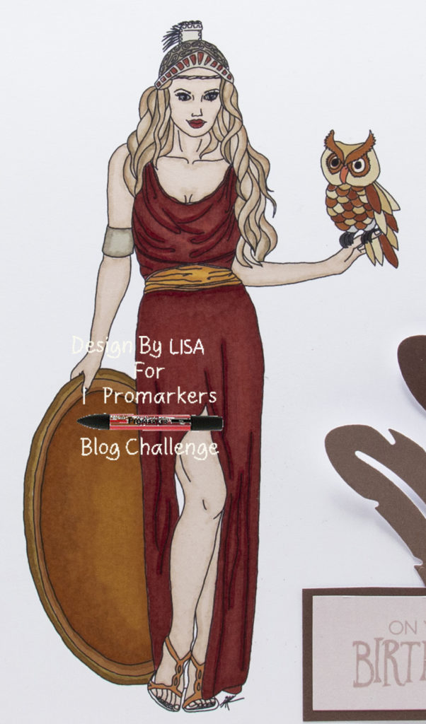digi image from Ike's Art called Athena