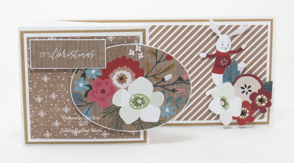 handmade card has been created from one of the collections from The Paper Pantry Usb IV called A Christmas Tale
