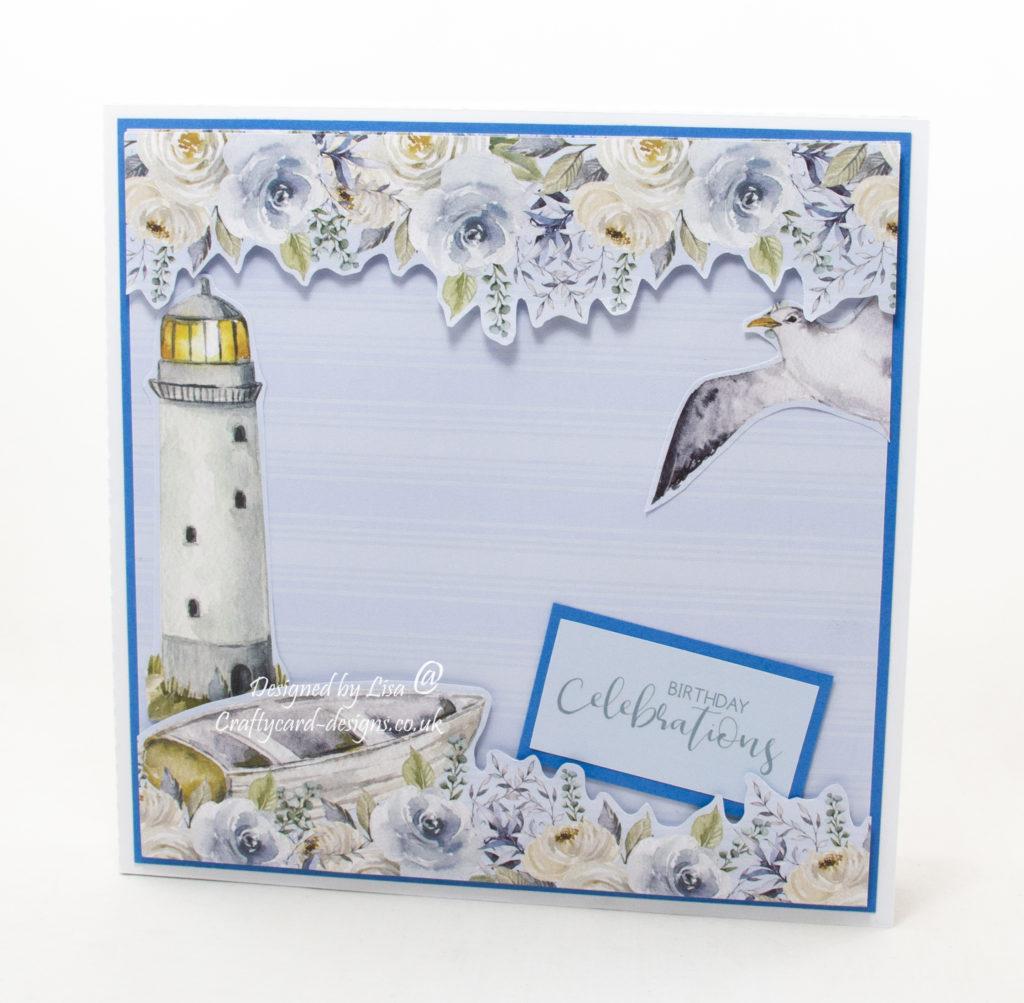 Handmade box card