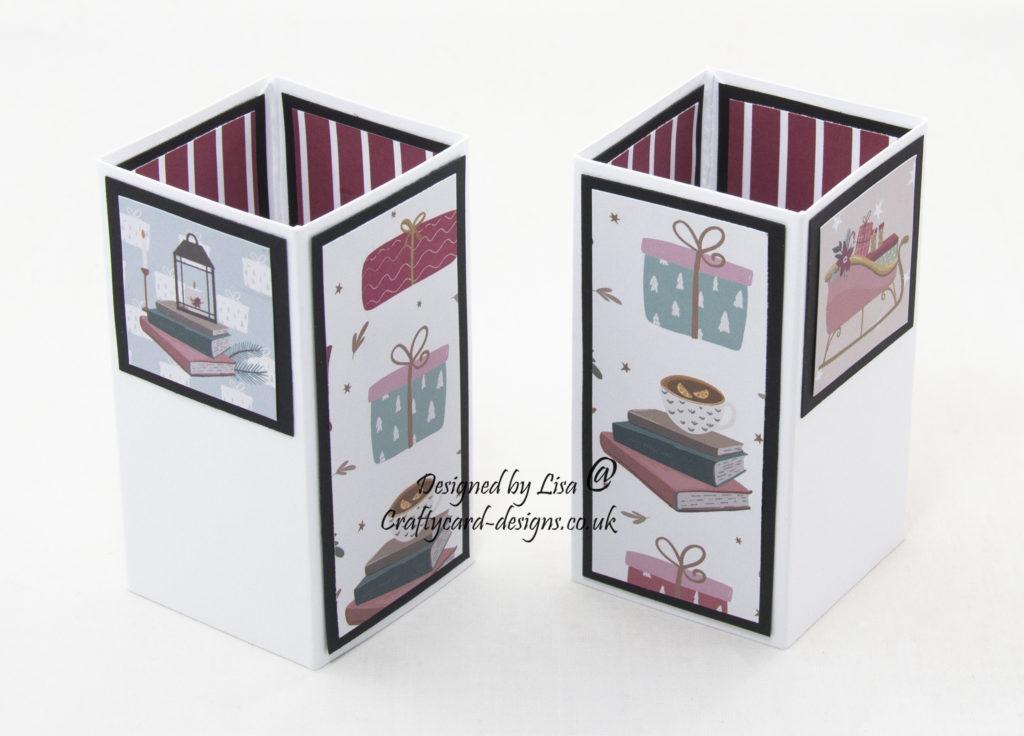 Handmade card using The Paper Pantry Volume VIII